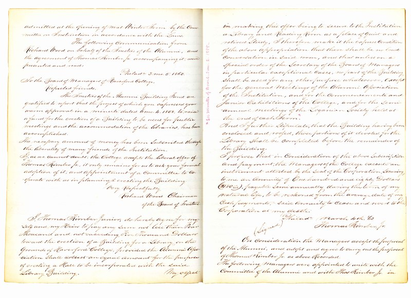 Minutes of the Board of Managers, 3/4/1863