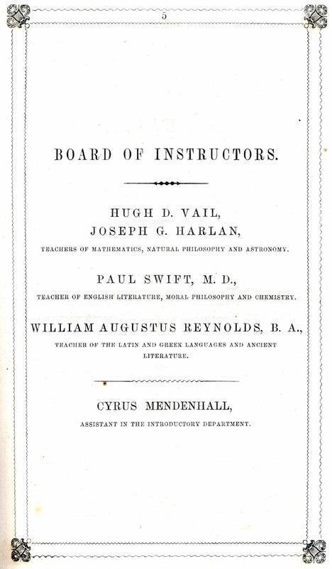 Board of Instructors