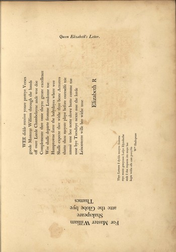 <span><em>Miscellaneous Papers</em> under the Hand and Seal of Shakespeare</span>