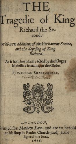 <em>Richard II</em>