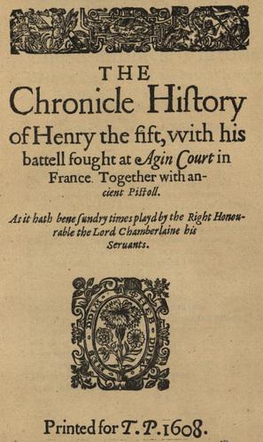 <em>Henry V</em>