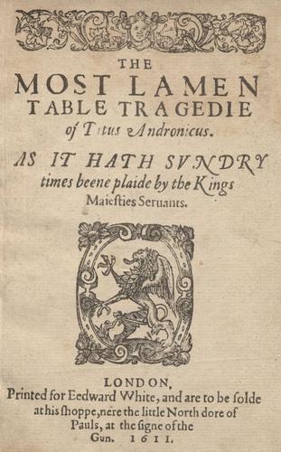 <em>Titus Andronicus</em>