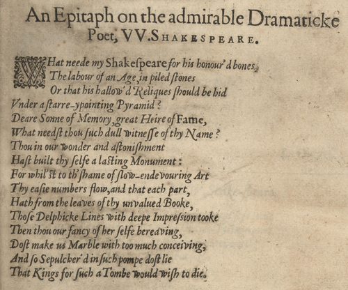 The Second Folio