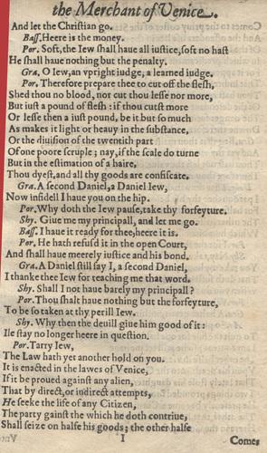 <div><em>The Merchant of Venice</em></div>