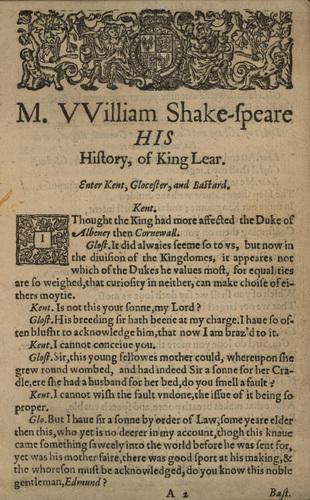 <em>King Lear</em>