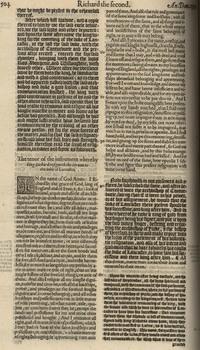 Holinshed's<em>Chronicles of England, Scotland and Ireland</em>