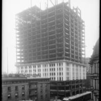Woolworth Building in Construction